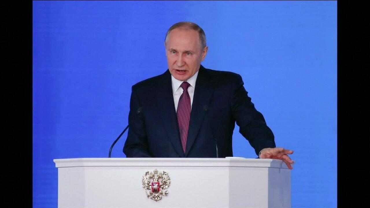 Putin quer reunião do Conselho de Segurança da ONU