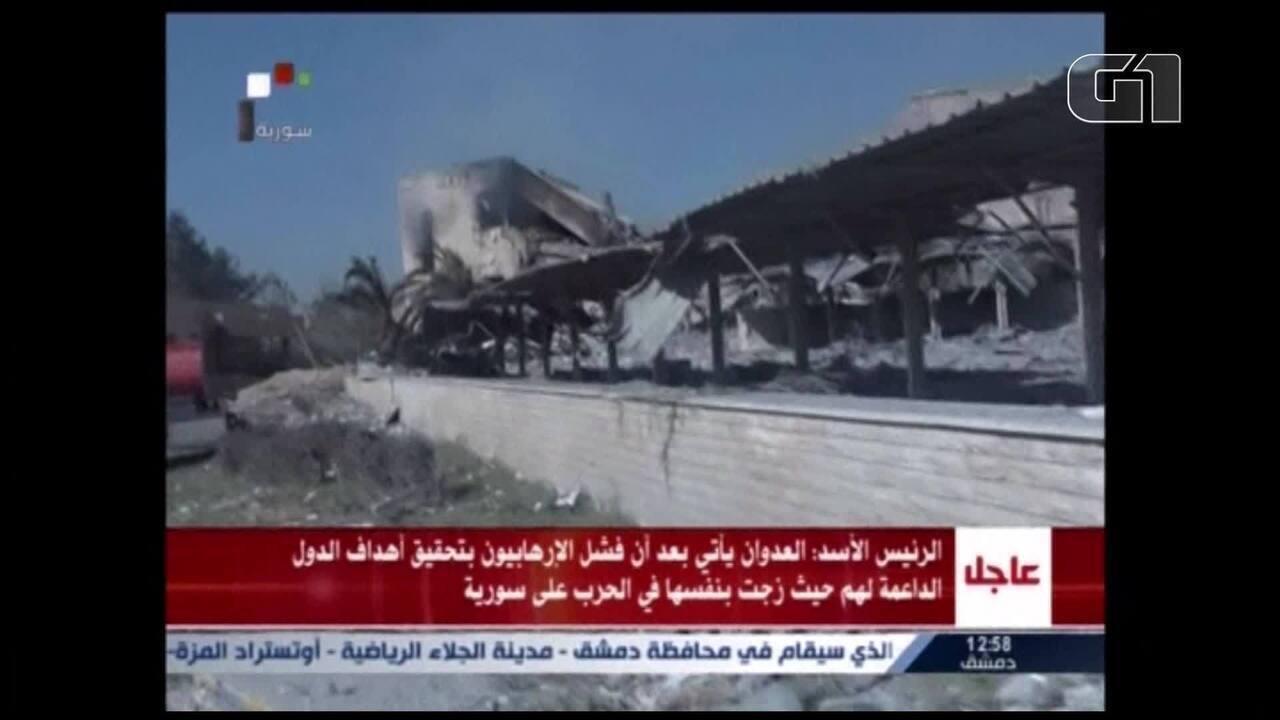 Rússia afirma que defesa antiaérea síria intercetou 71 mísseis aliados