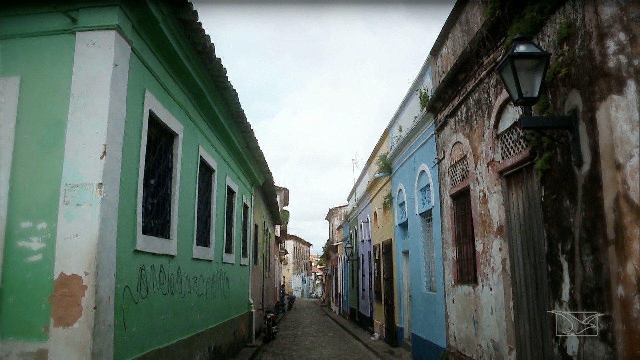 Beleza arquitetônica do bairro do Desterro em São Luís é destaque no Repórter Mirante