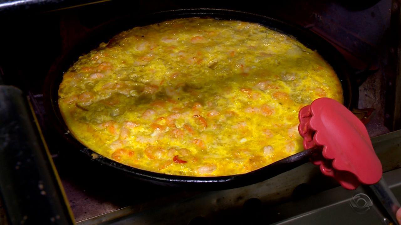 Receita do Campo: veja como preparar prato com camarão