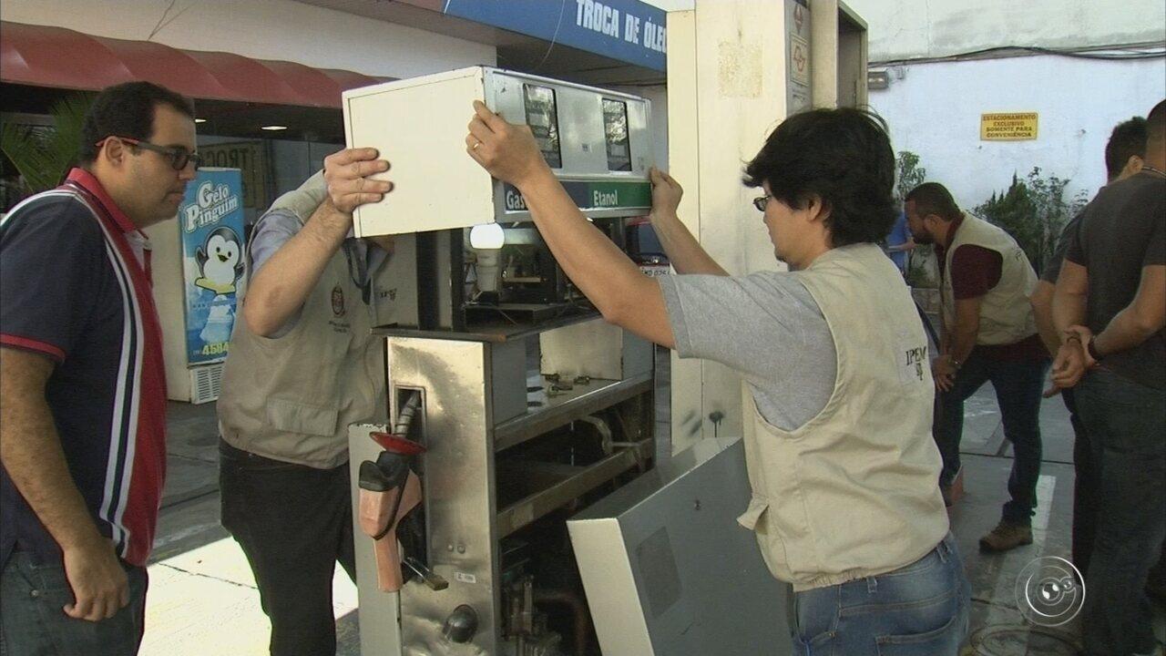 Operação da Polícia Civil e Ipem fiscaliza postos de combustíveis em Jundiaí