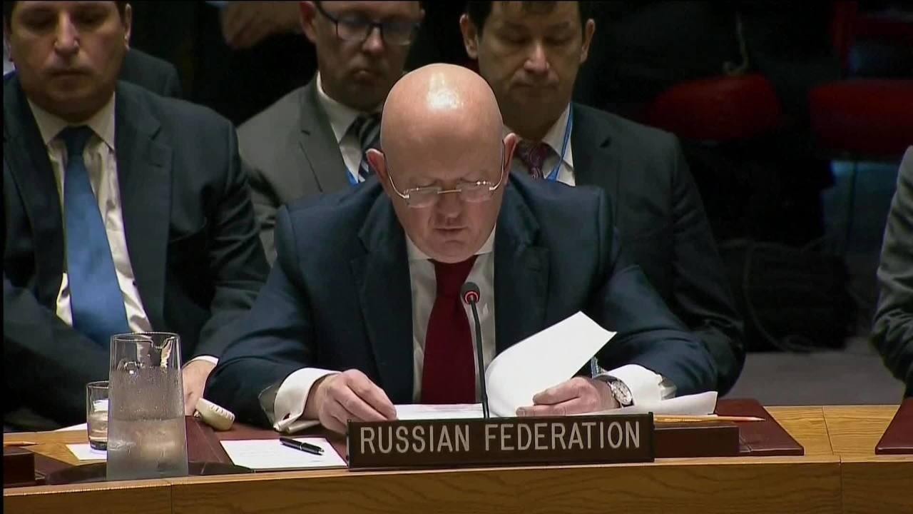 Assista ao discurso do embaixador da Rússia na ONU