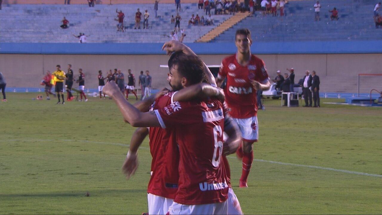 Veja o gol de Mateus Anderson contra o Avaí