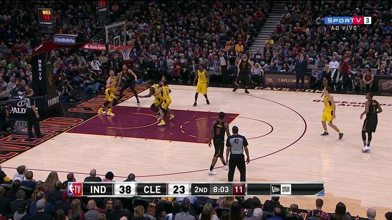 Melhores Momentos: Indiana Pacers 98 x 80 Cleveland Cavaliers pela NBA