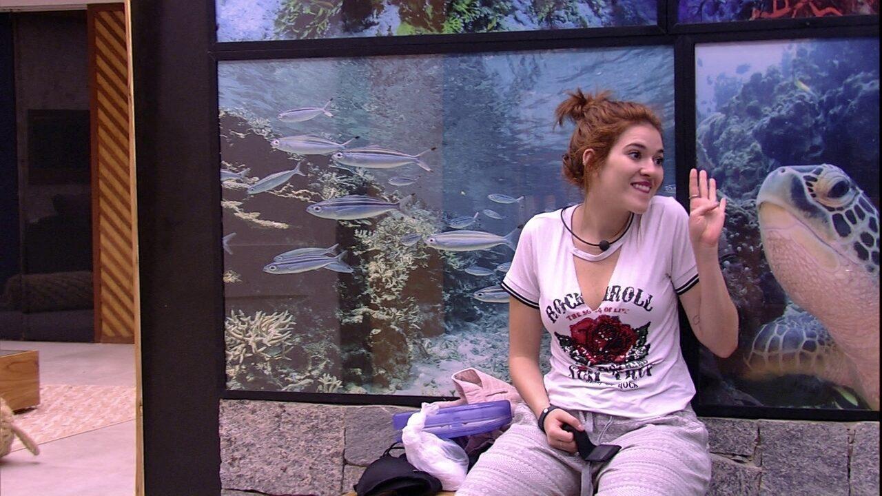 Gleici fala com Ana Clara sobre a reta final do BBB18: 'A gente está tão pertinho'