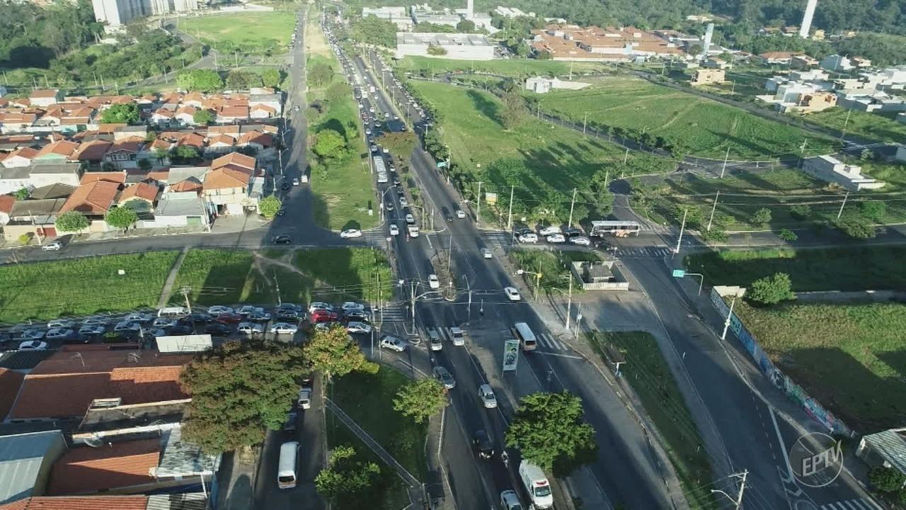Avenida John Boyd Dunlop, em Campinas, tem transito intenso; confira relatos do movimento
