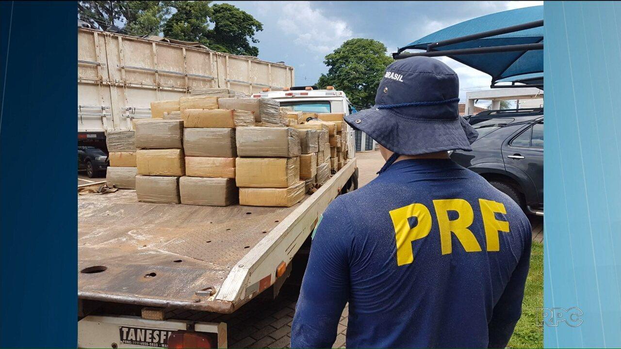 Aumentou o número de apreensões de armas, drogas e munição nas estradas do Paraná