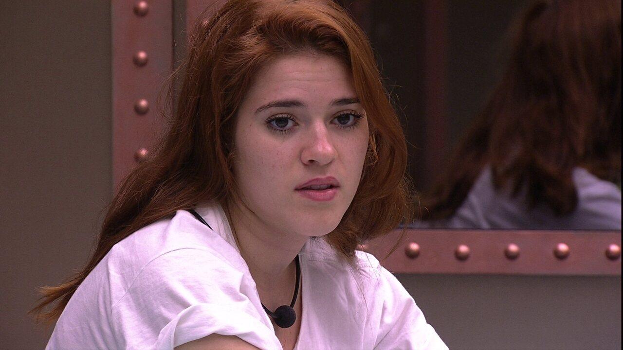 Ana Clara reclama de discurso de Kaysar: 'Faz comentários pesados'