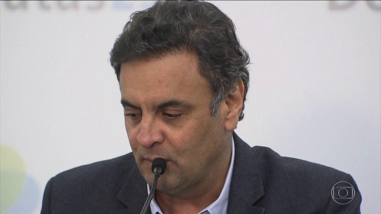 PGR pede ao Supremo que aceite integralmente denúncia contra Aécio Neves, do PSDB