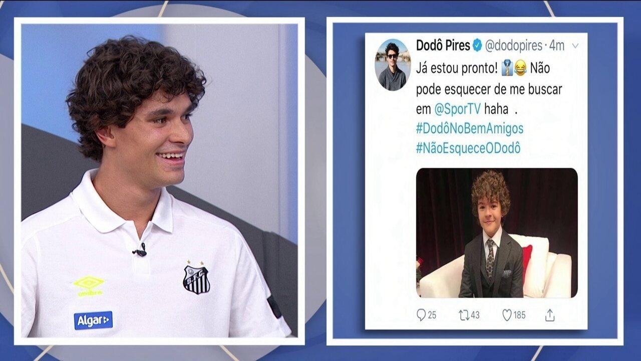 Dodô fala sobre semelhança de garoto de série