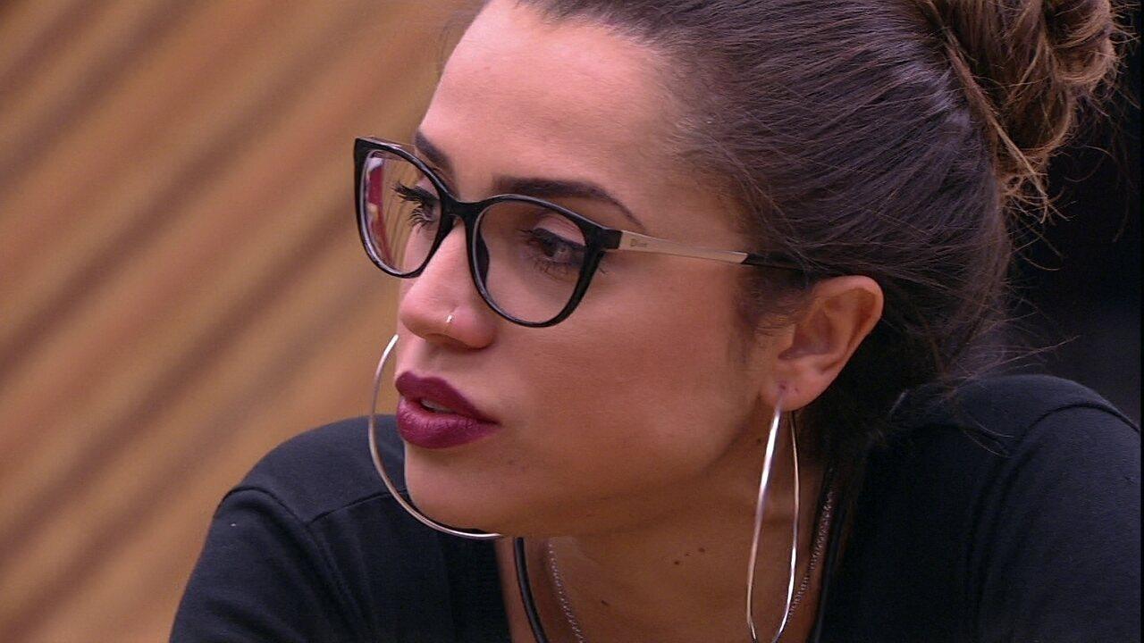 Kaysar diz que não conversou com Breno e Paula comenta: 'Acho que foi nervosismo'