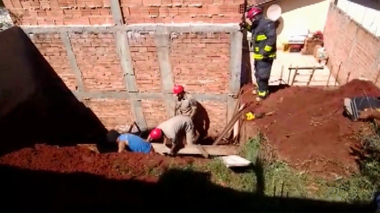 Operário morre soterrado em uma obra na zona Norte de Londrina