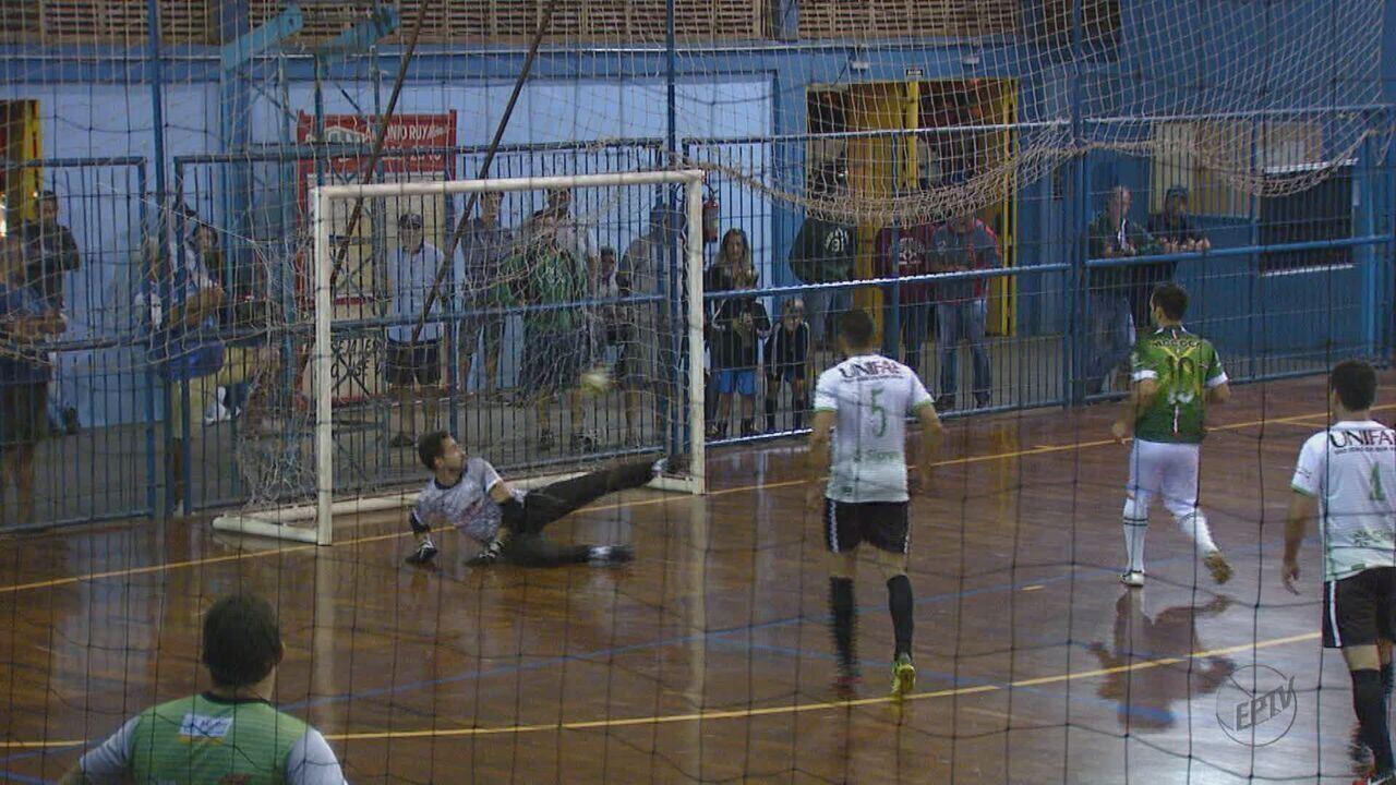 Veja os resultados da última rodada da primeira fase da Taça EPTV de Futsal
