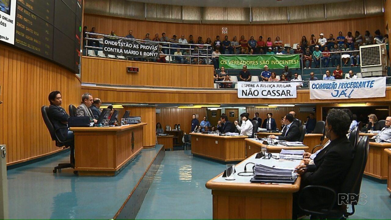 Câmara decide abrir Comissão Processante contra dois vereadores de Londrina