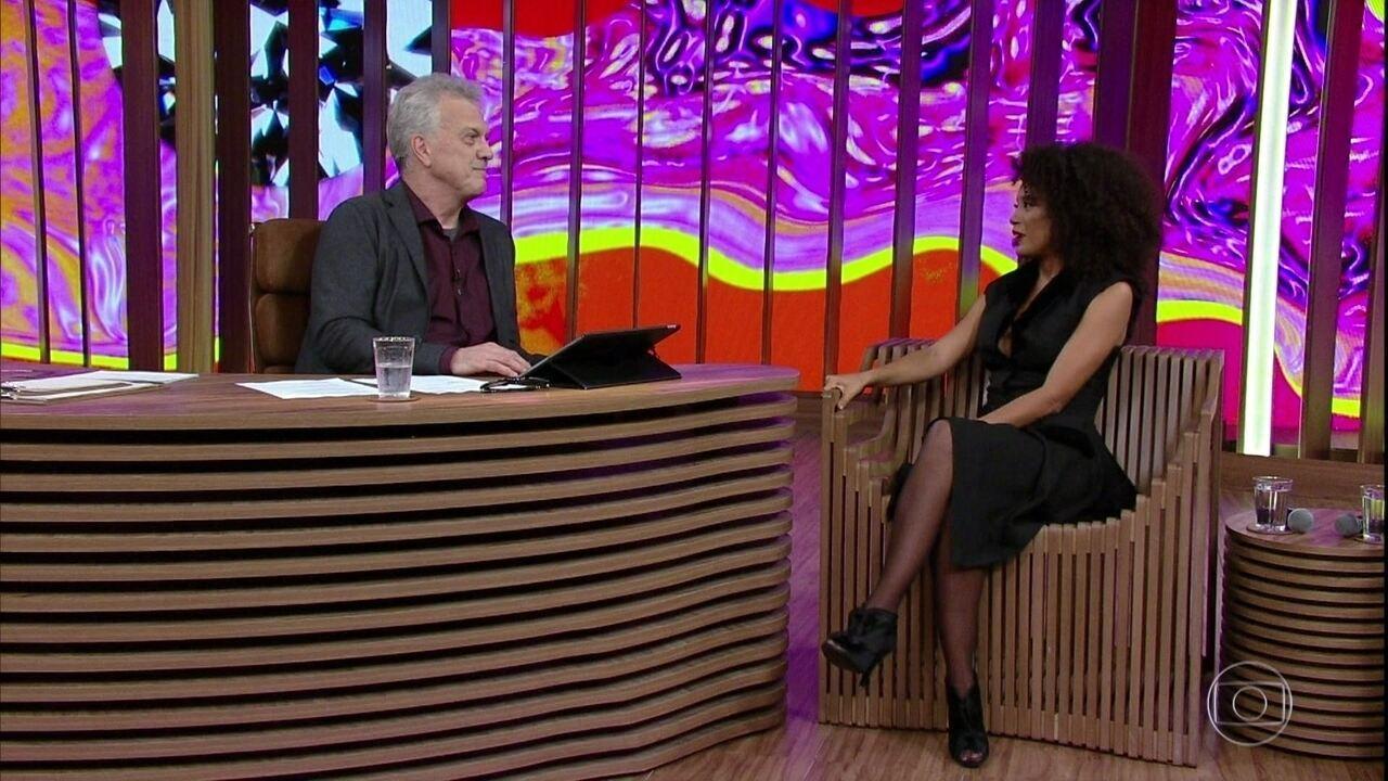 Taís Araújo fala de viagem a Angola para gravação da nova temporada de 'Mister Brau'