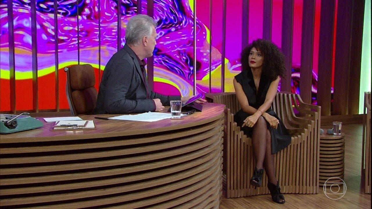 Taís Araújo fala sobre combate ao assédio