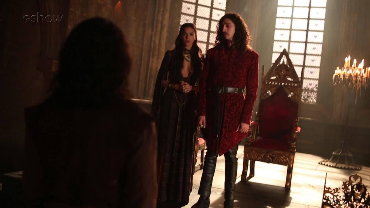 Deus Salve o Rei: Rodolfo revela segredo de Catarina para Afonso