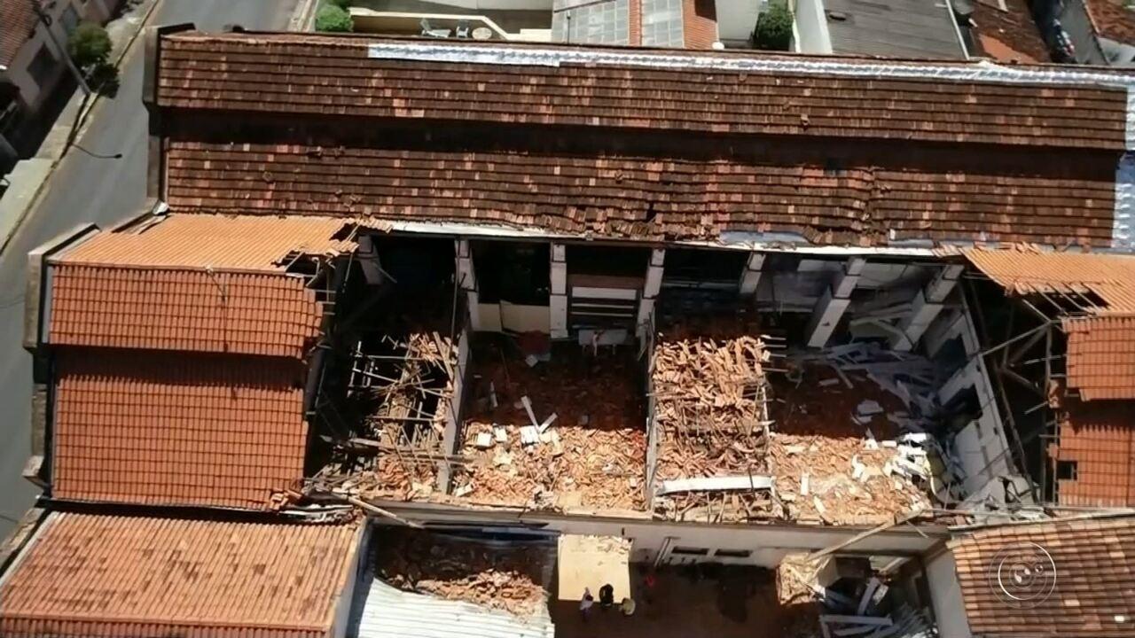 Confira a cobertura completa da queda do teto de escola infantil em Agudos (SP)