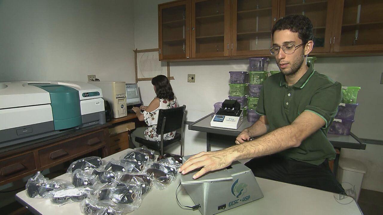 Pesquisadores da USP criam aparelho que identifica alteração de cores nos óculos escuros