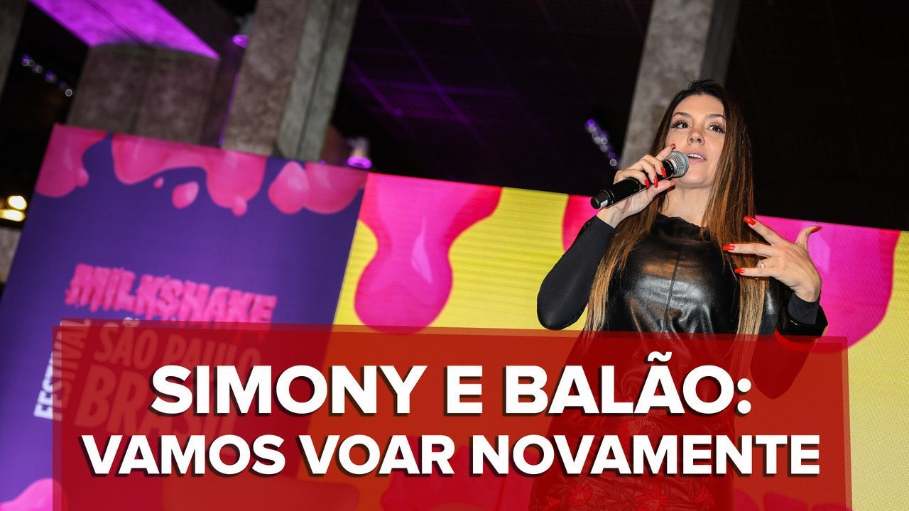 Simony Compara Balao Magico A Pele E Neymar E Planeja Dvd Com