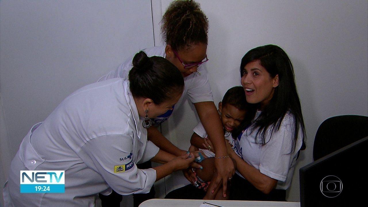 Pernambuco planeja vacinar 2,3 milhões de pessoas durante campanha contra a gripe