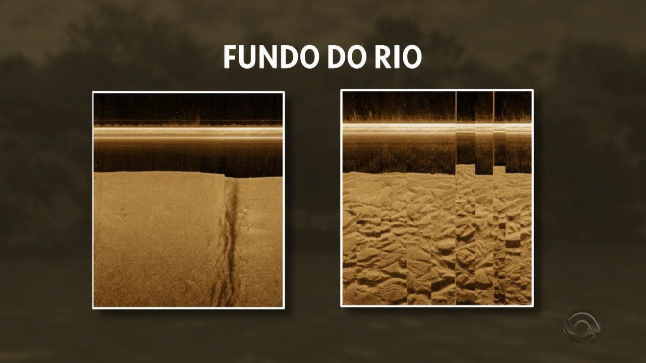 Estudo mostra danos causados por extração irregular de areia no fundo do Rio Jacuí