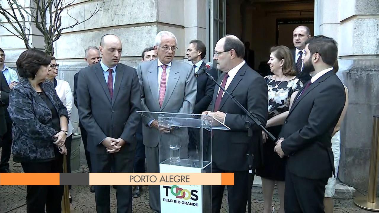 Sartori quer ampliar prazo para aprovação de plebiscito para venda de estatais