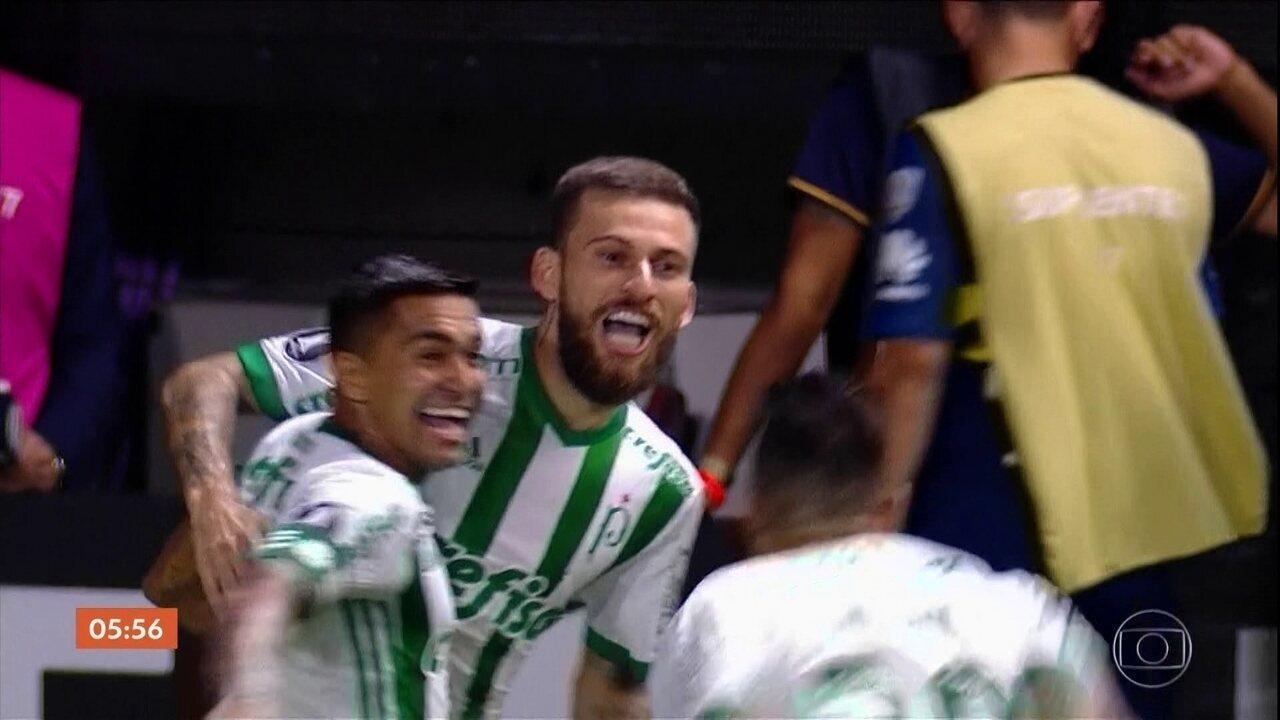 Libertadores: Palmeiras vence o Boca Juniors na Argentina