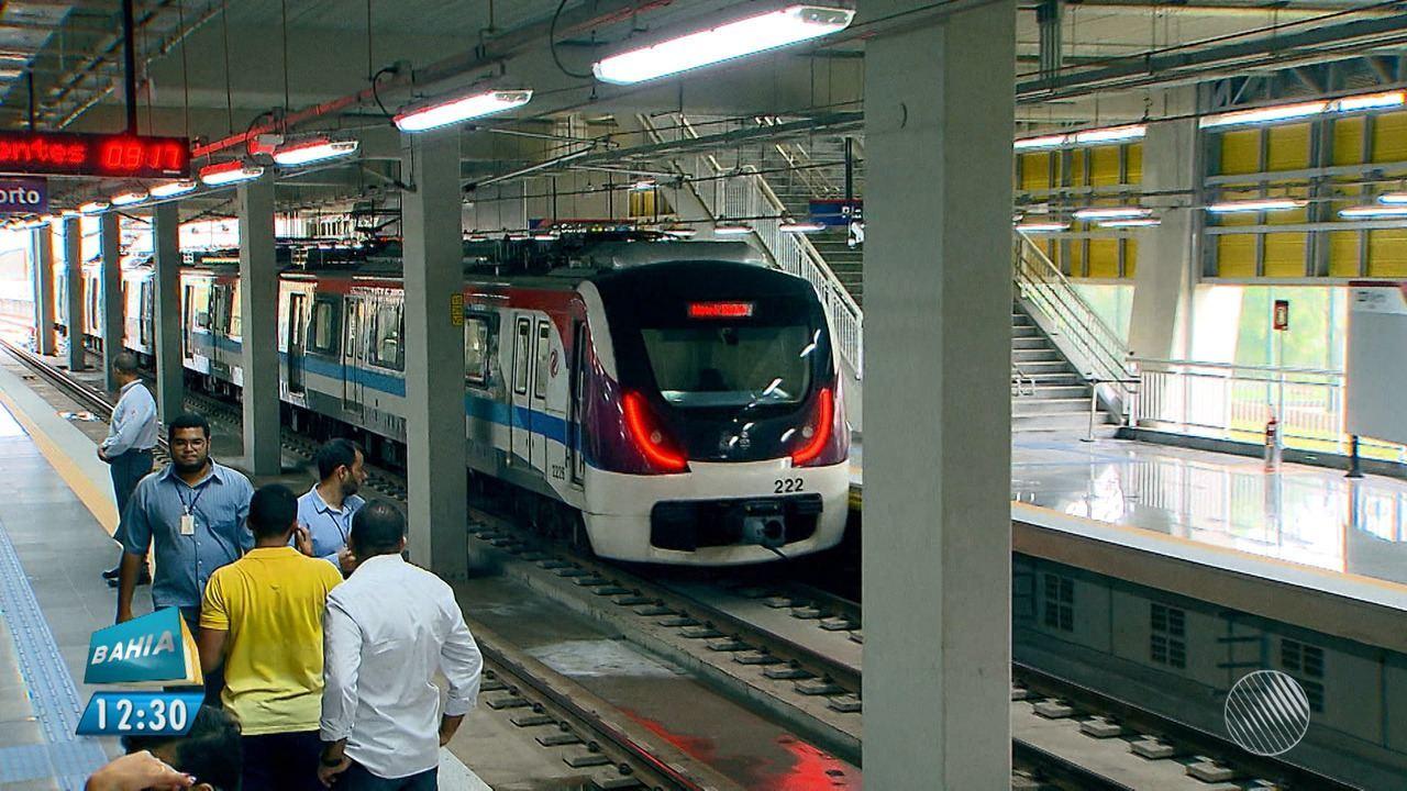 Linha 'Metrô Aeroporto' é entregue em Salvador