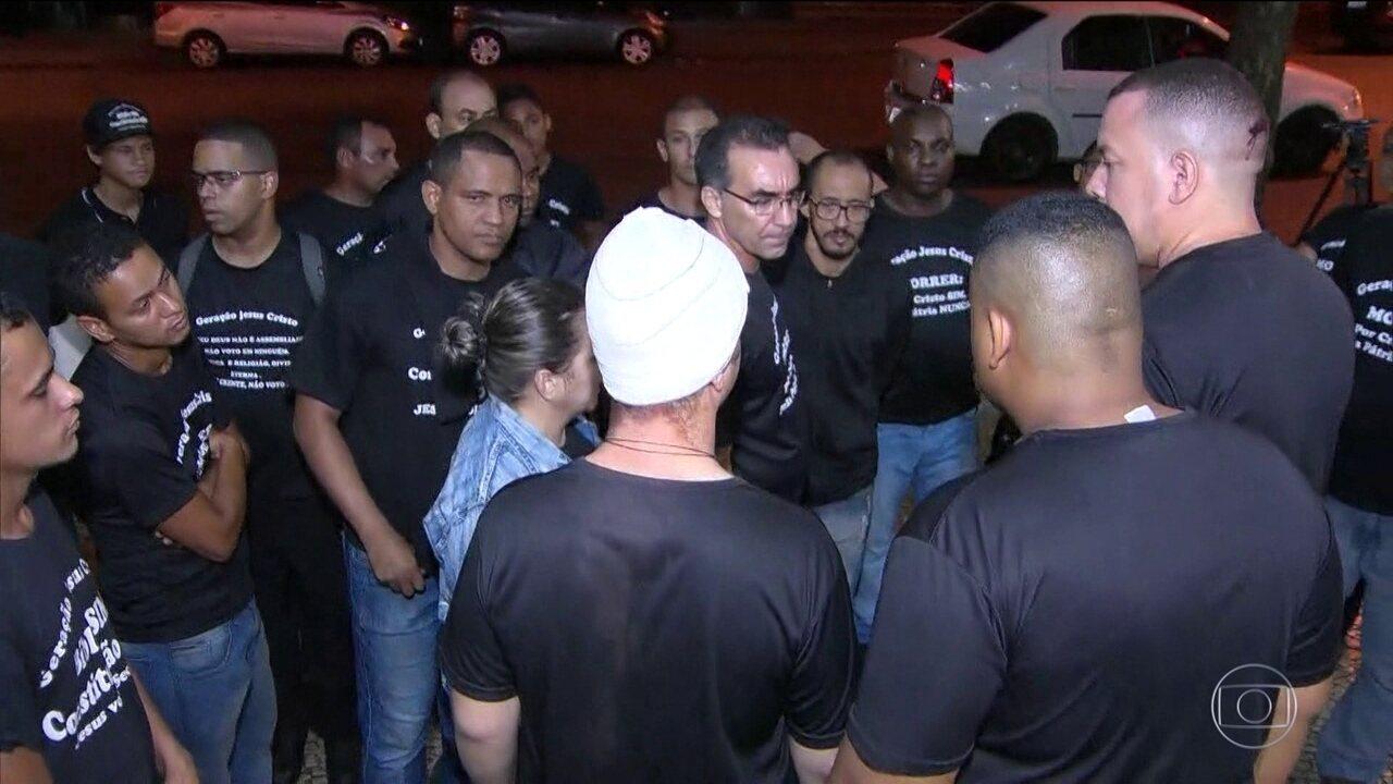 12 pessoas ficaram feridas numa confusão envolvendo a Guarda Municipal do Rio