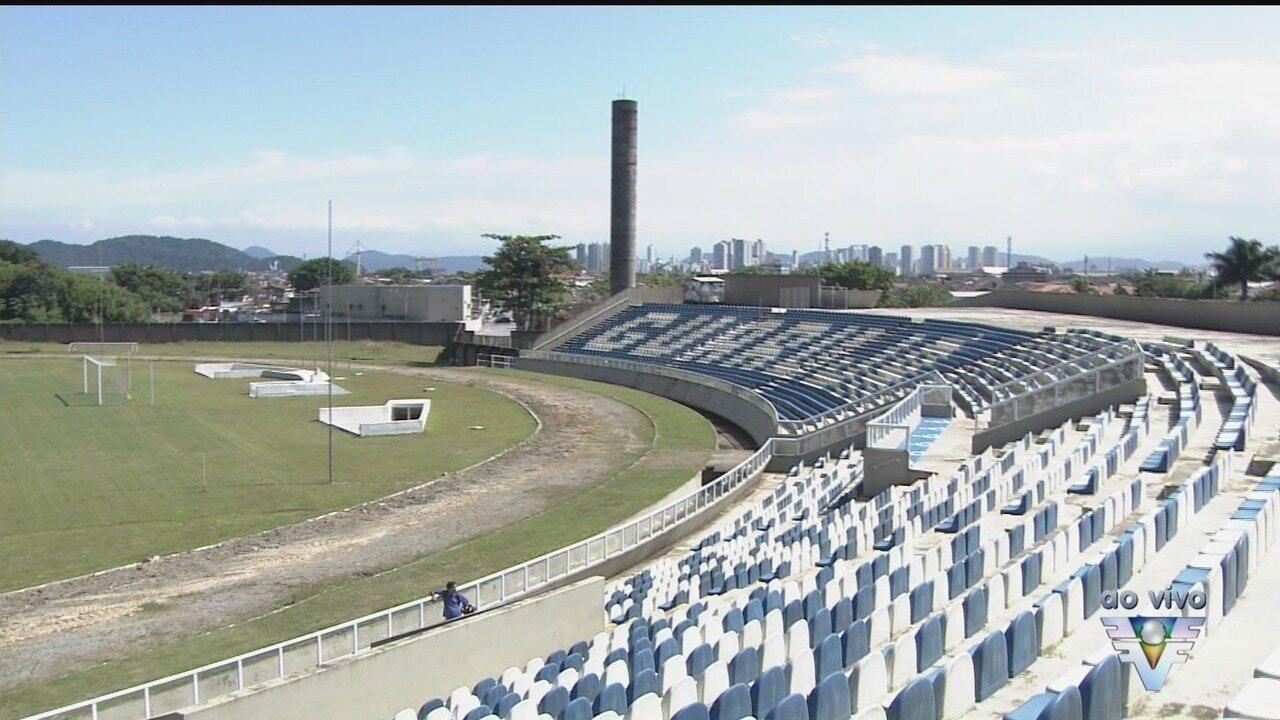 Estádio da Associação Desportiva Guarujá é interditado