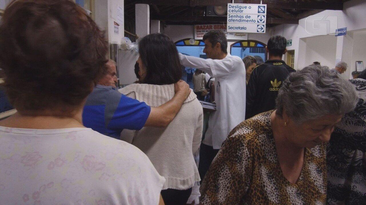 Hospital no interior de SP recebe 40 mil pessoas para cirurgias espirituais em SP