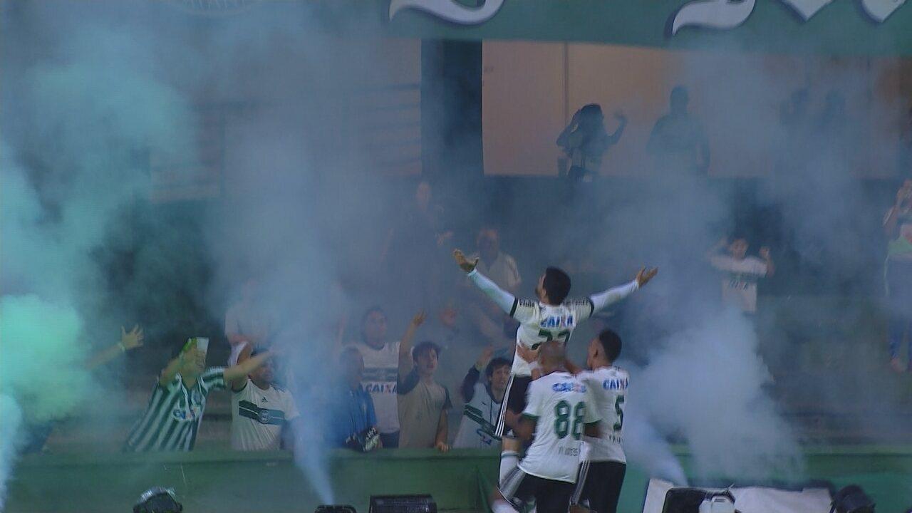 Gols de Coritiba 2 x 1 Criciúma - 3ª rodada da Série B