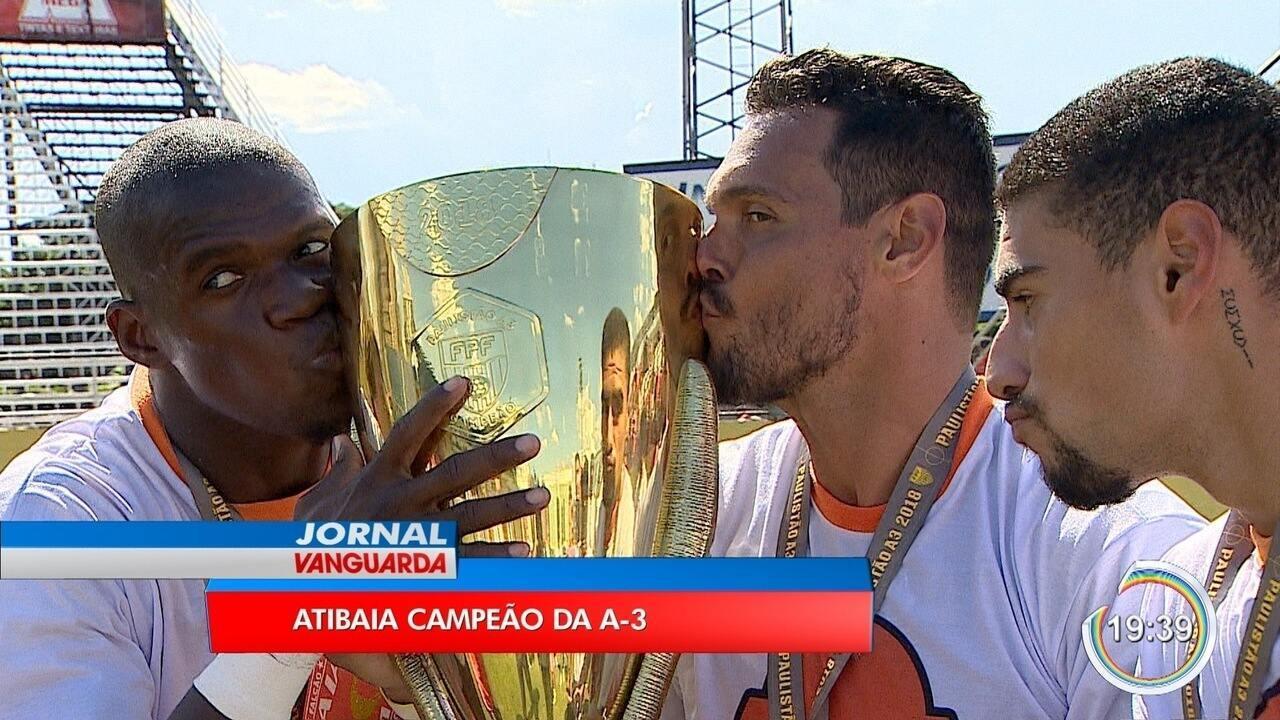 Atibaia vence Portuguesa Santista e fatura título inédito da A3 do Paulista