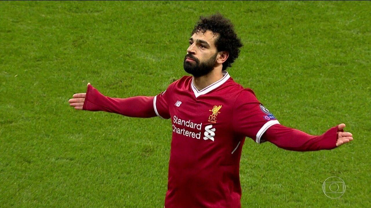 Ídolo do Liverpool e herói no Egito, Mohamed Salah vive temporada dos sonhos