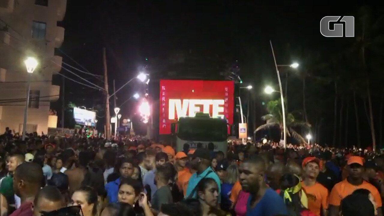 Direto da pipoca: público curte o show de Ivete em Salvador