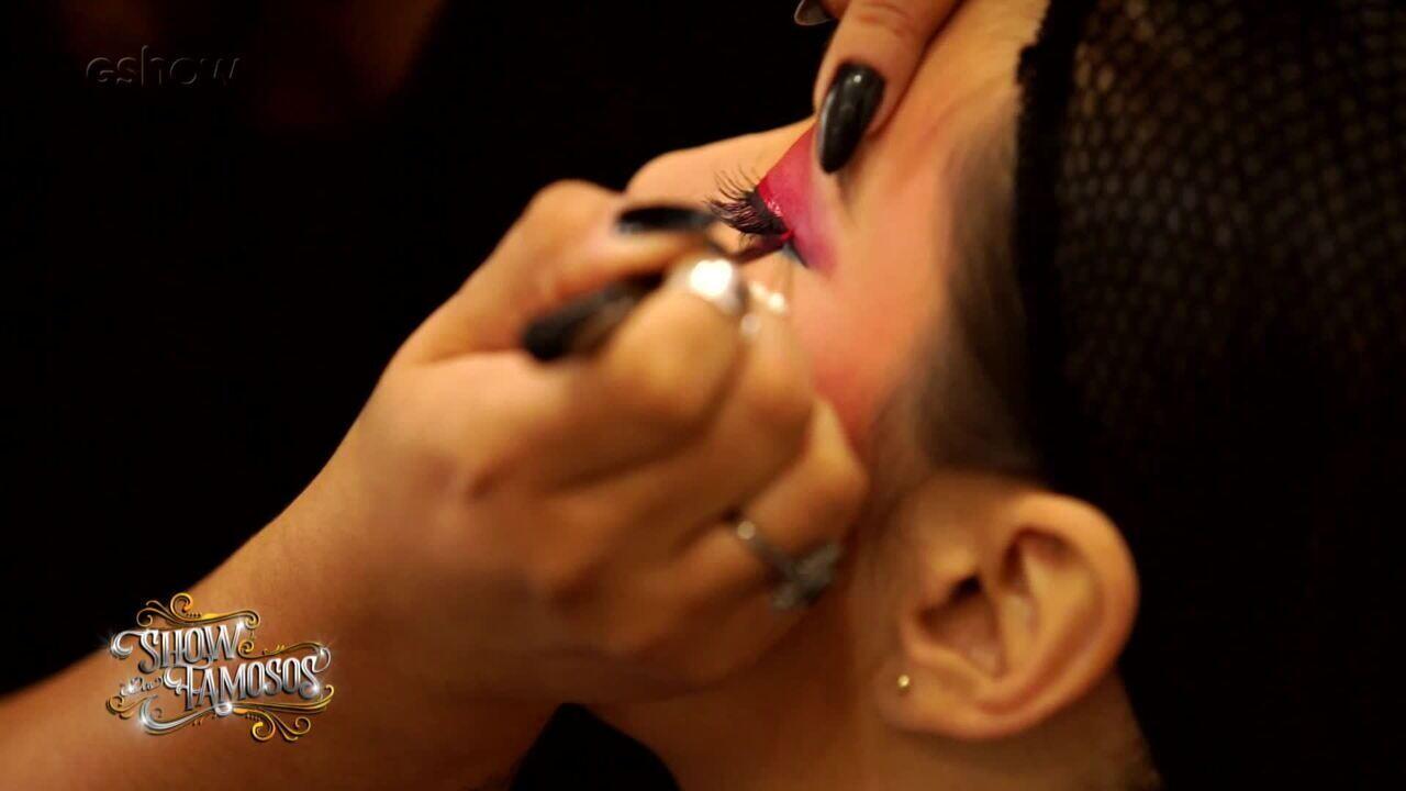 Veja como foi a preparação de Naiara Azevedo para interpretar Cindy Lauper