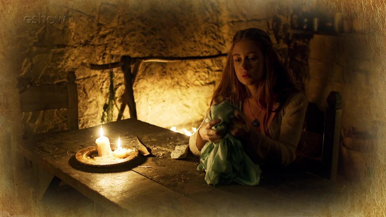 Resumo de 02/05: Amália destrói vestido que Virgílio lhe deu