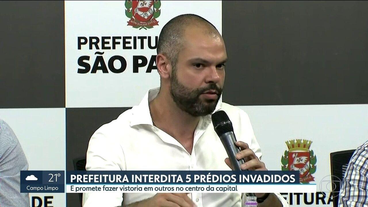 Defesa Civil vai fazer avaliação de 70 ocupações na capital paulista