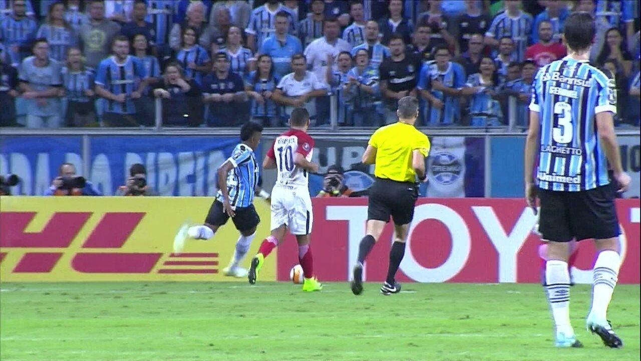 Melhores momentos: Grêmio 5 x 0 Cerro Porteño pela 4ª rodada da Libertadores