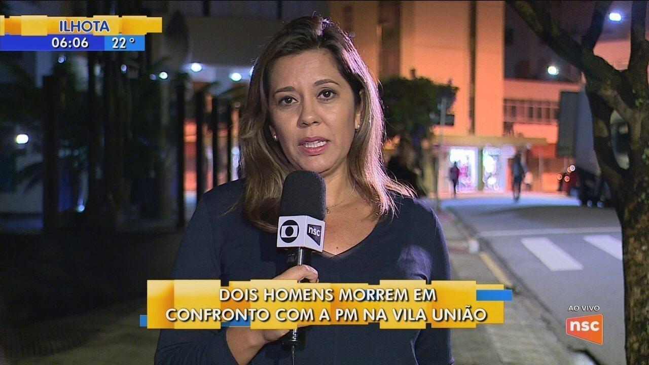 Dois homens morrem em confronto com a Polícia Militar na Vila União