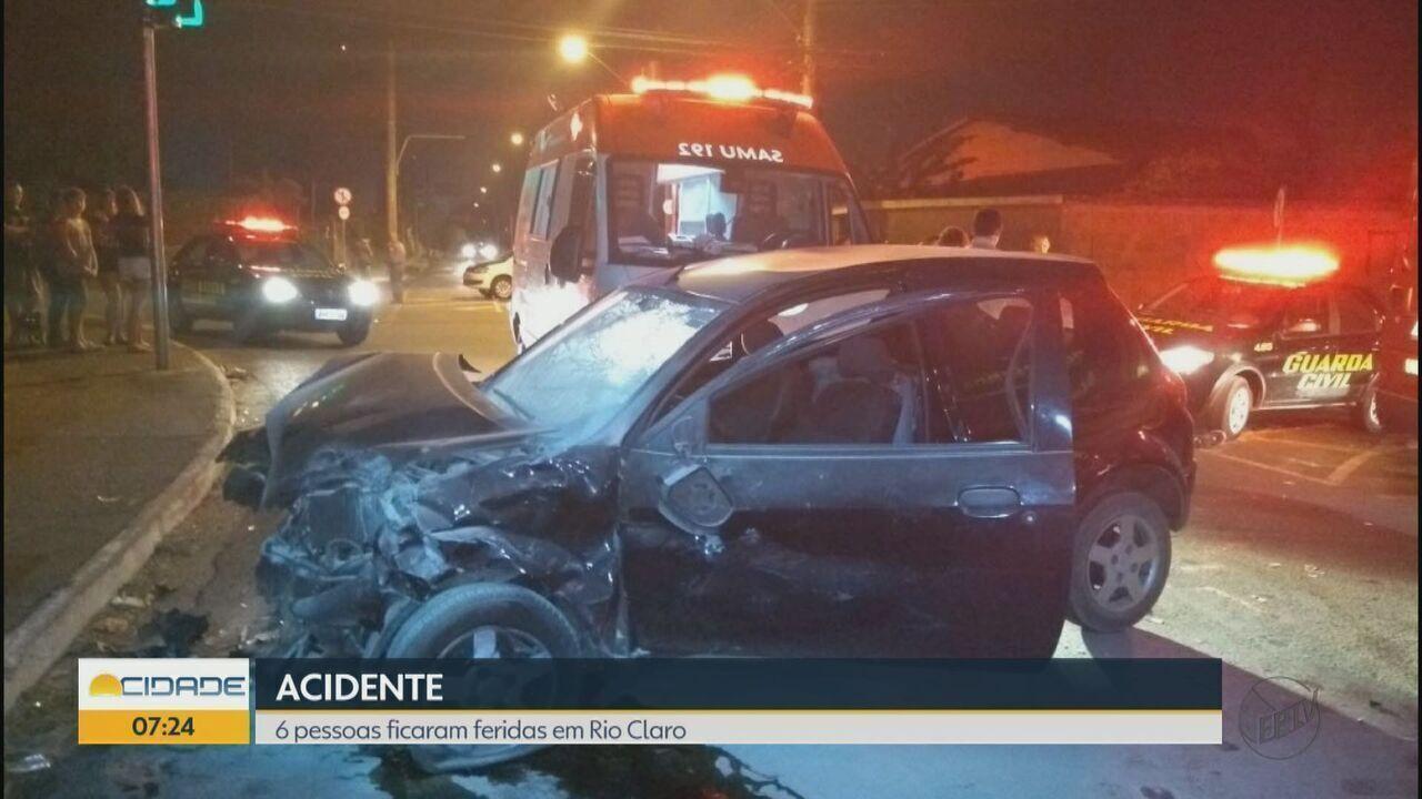 Motorista é preso por embriaguez ao volante após acidente em Rio Claro, SP