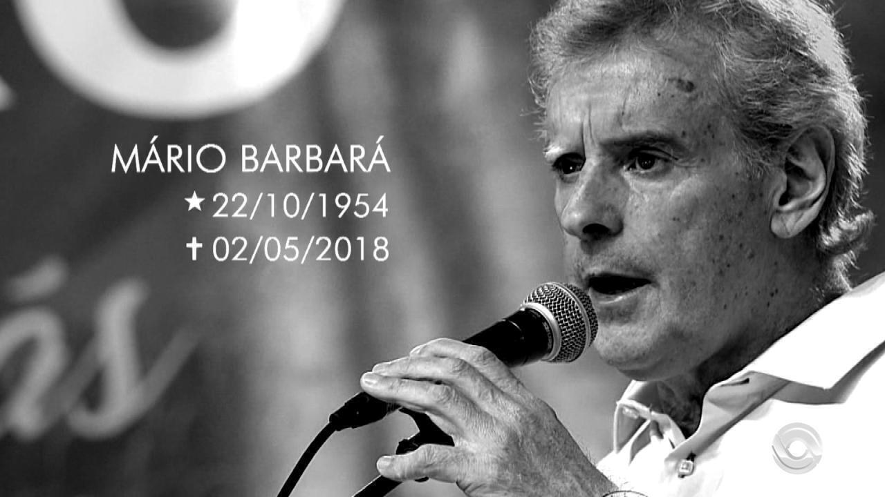 Poeta e músico Mário Barbará morre nesta quarta-feira (2) aos 63 anos