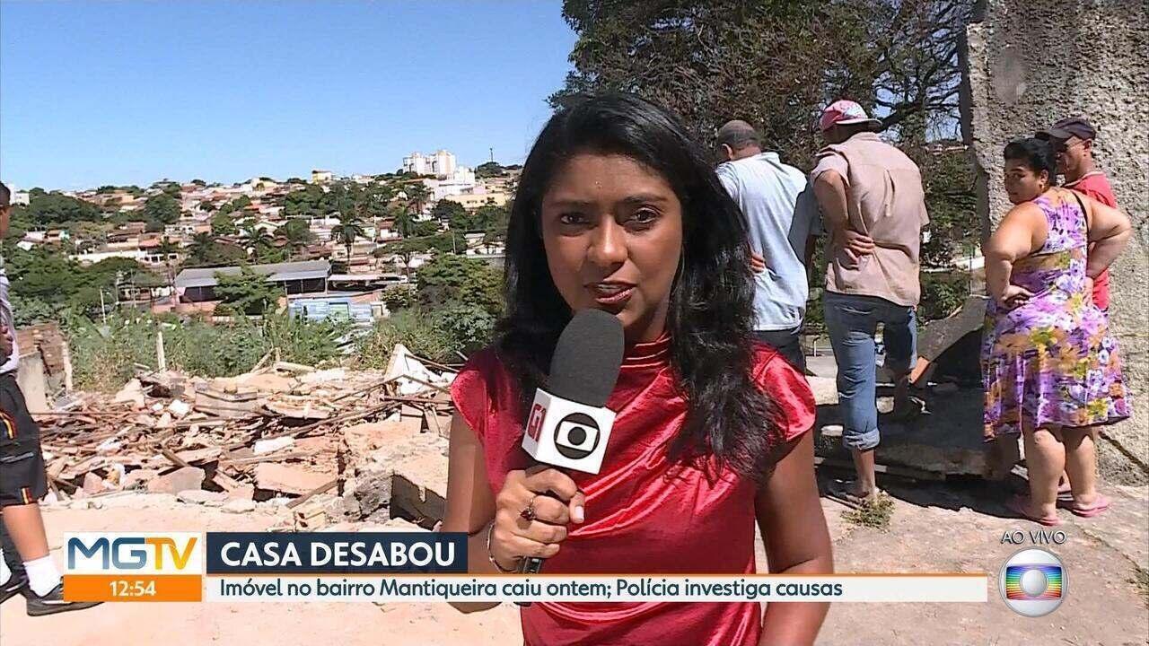 Defesa Civil descarta risco para imóveis vizinhos de área do desabamento em Venda Nova