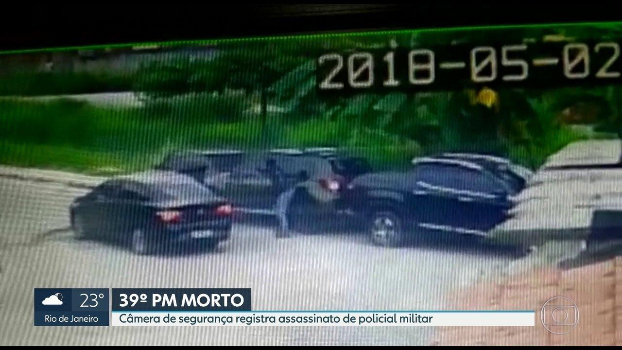 PM é encontrado morto dentro de carro em Caxias, na Baixada Fluminense