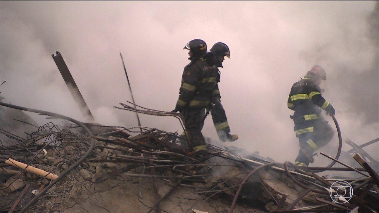 Laudo da prefeitura de SP mostra que o prédio não tinha condições mínimas contra incêndio
