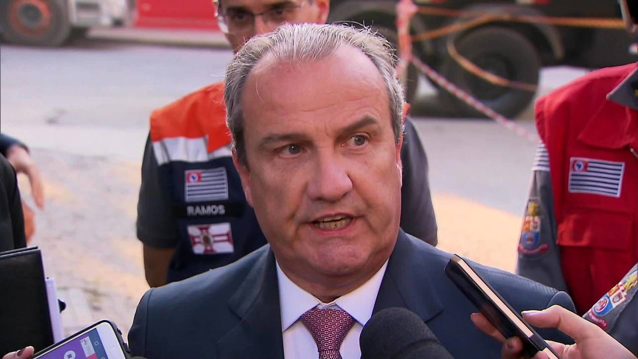 Mágino Alves diz que curto-circuito causou fogo em prédio de SP