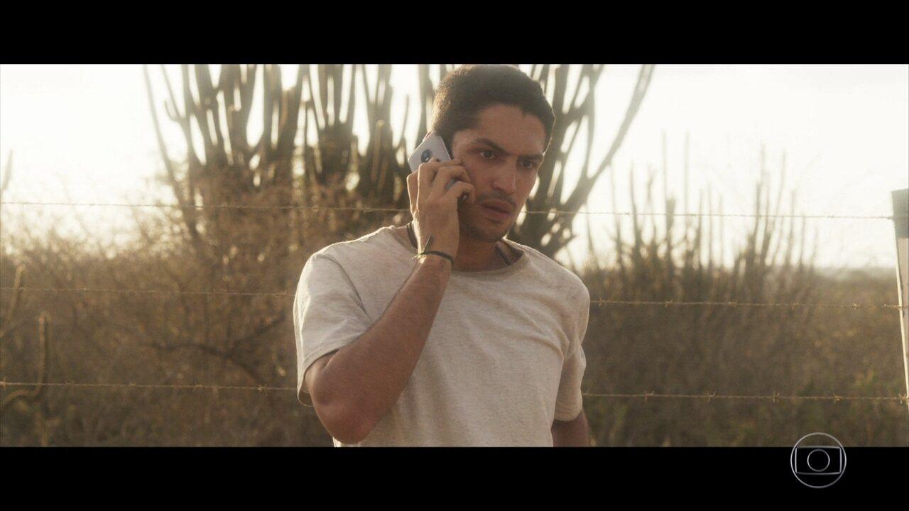 Maria deixa Hermano estarrecido com telefonema