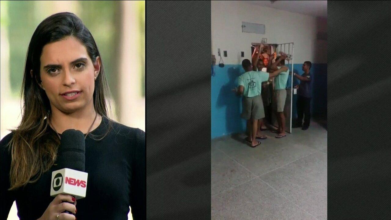 Adolescentes infratores dividem celas com maiores em abrigos superlotados no RJ