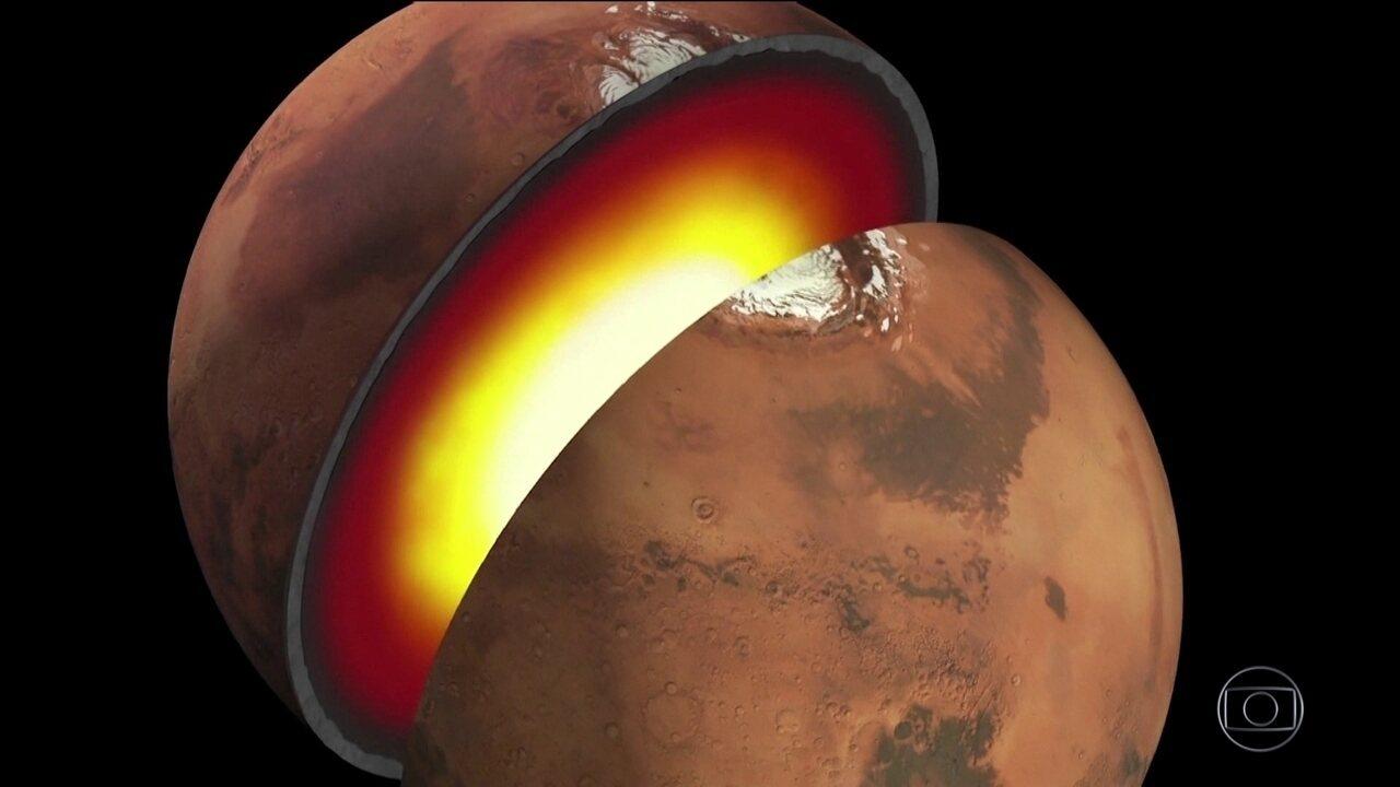 Nasa vai estudar subsolo de Marte